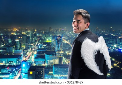 Businessman-angel