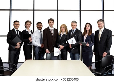 Businessmen in the conference hall. Auditing Company. Negotiations of business corporation. Cooperation between the countries.