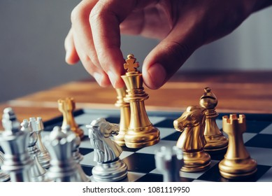 businessmen are using chess ideas - business planning ideas