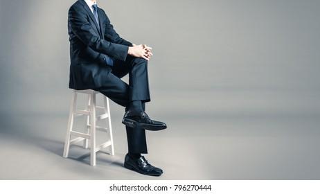 businessmen wearing a suit