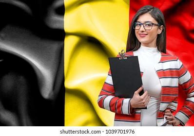 Businesswoman from Belgium