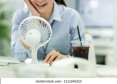 Businesswoman in a break