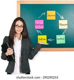 Businesswoman, Women, Presentation.