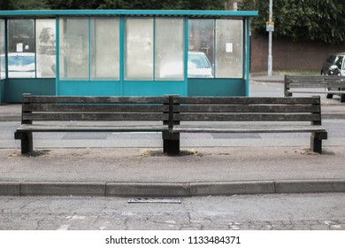 Buss Stop With A Bench