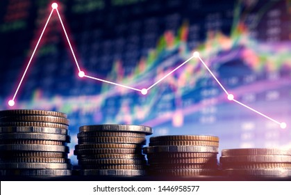 Bussiness poor decreasing money currency drop and weak background.