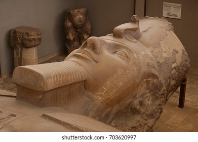 Bust of the Colossus of Ramses II