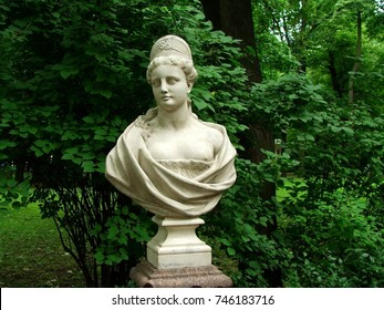 Bust in the Summer Garden, Saint Petersburg