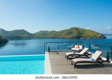 BUSUANGA ISLAND PALAWAN, PHILIPPINES - April 13, 2015 : Scenic view From busuanga island