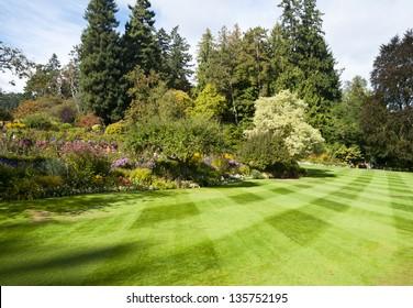 Butchart Gardens at Victoria B.C, Canada.