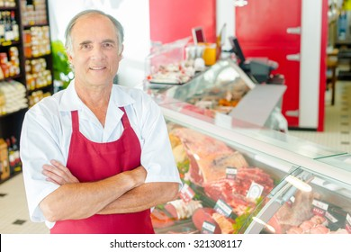Butcher proud of his shop