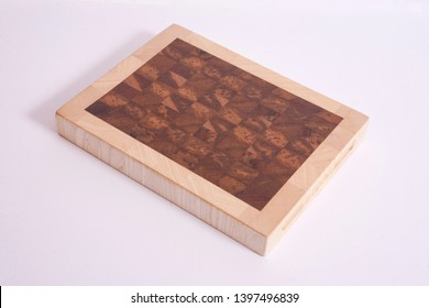 Butcher's block wooden chopping board, new and without knife marks