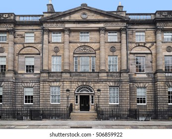 Bute House, Charlotte Square, Edinburgh, official residence of the First Minister of Scotland