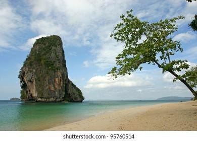 Butiful Thailand, Rai Lay Beach ,south of Thailand