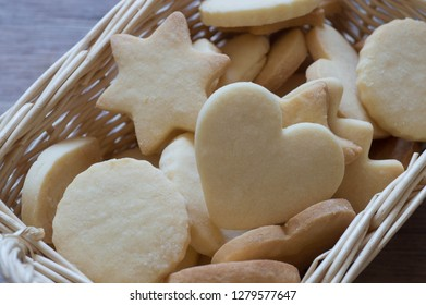Butter cookies, known as Brysslkex, Sablés, and Danish biscuits, are unleavened cookies consisting of butter, flour, and sugar.