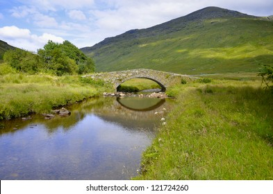 Butterbridge in the Scottish Highlands - Loch Lomond and Trossachs National Park