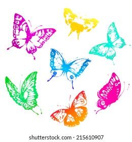 butterflies design