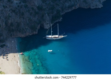 Butterfly Valley in Fethiye, Turkey.