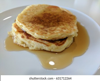 Buttermilk Pancakes and Syrup