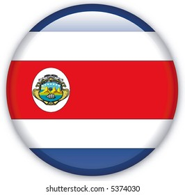 Button with map from Costa Rica