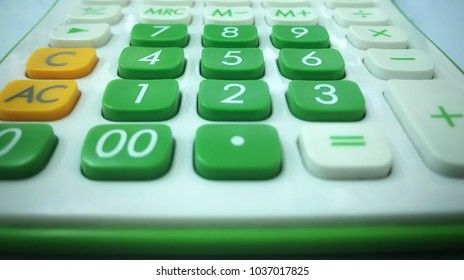 Button on the calculator