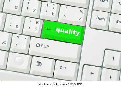 button of quality