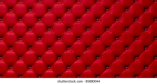 Buttoned on the red Texture. Repeat pattern