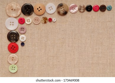 buttons are on  canvas