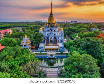 The Buu Long Pagoda is one of the big pagoda in 9 district, Hochiminh city.It is famous located of tourist of  in Vietnam. Buu Long Pagoda can be reached either by car or by boat.