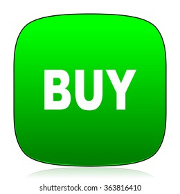 buy green icon for web and mobile app