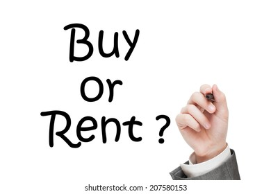 Buy or Rent question.  real estate concept