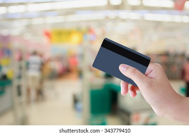 Buying with Credit Card in supermarket