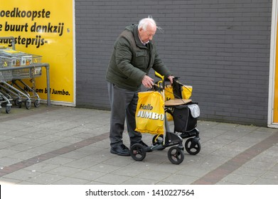 Buying Groceries At The Jumbo Amsterdam The Netherlands 2019