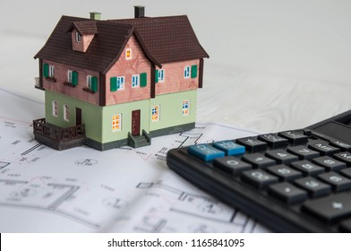 Buying a house, building repair and mortgage concept. Estimation real estate property with loan money and banking