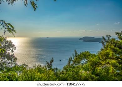 Buyukada is one of the Princes Islands on Marmara Sea.