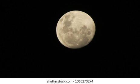 By Abhishek.v.n.A full Moon view from Earth from india, Kerala state, Kannur district.4th April 2019