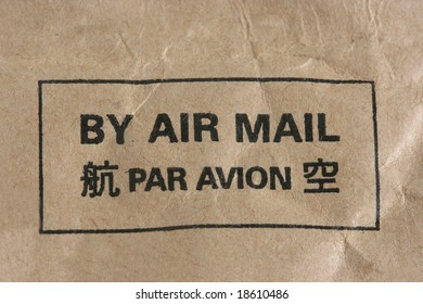 By Air Mail Stamp
