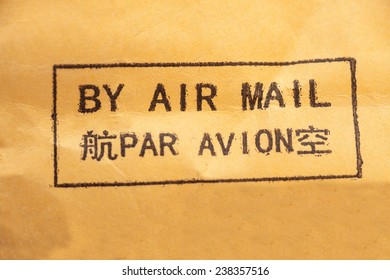 By Air Mail Sticker