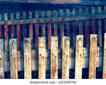 by sun illuminated fence in austria