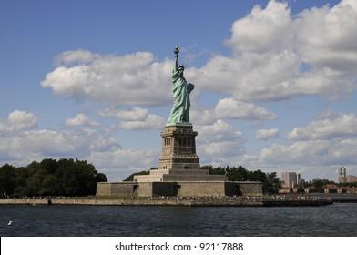 Bye-bye Miss Liberty!
