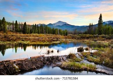 Byers Peak at Sunset, Winter Park, Colorado