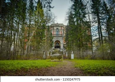Bykovo, Manor in Bykovo, Vorontsov-Dashkov Manor, abandoned manor, abandoned building