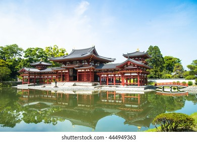 Byodoin temple buddhism culture style in Kyto