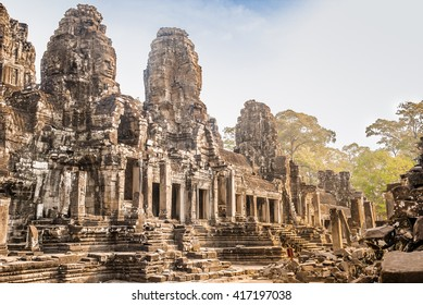 Byron's temple in Angkor