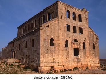 Byzantine church Syria