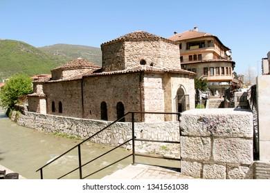 Byzantine Macedonian Orthodox Church in Tetovo