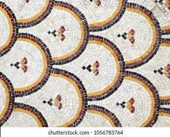 Byzantine mosaic from Madaba, Jordan