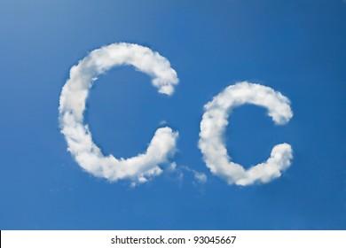 C font clouds