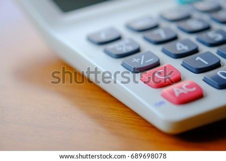 C Key Calculator Stock Photo (Edit Now) 689698078 - Shutterstock