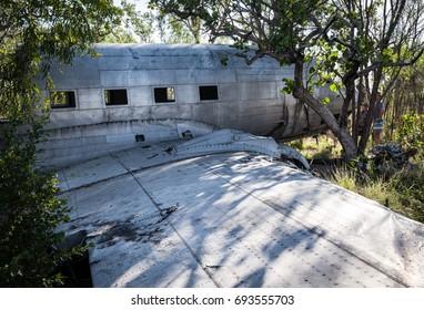 C53 WWII wreck, Vansittart Bay