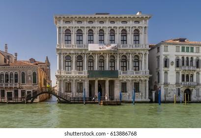 Ca Rezzonico, Canal Grande, Venice, Italy